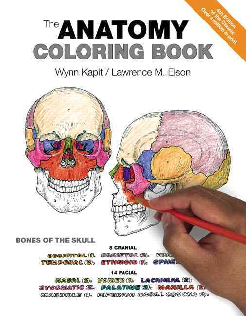 The Anatomy Coloring Book By Kapit, Wynn/ Elson, Lawrence M.